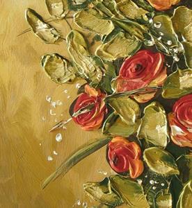 Detail Image for art Rose Bouquet