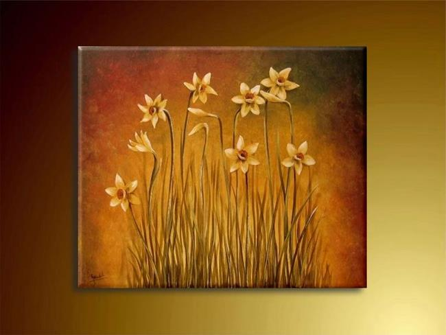 Art: The Jonquils by Artist Ewa Kienko Gawlik