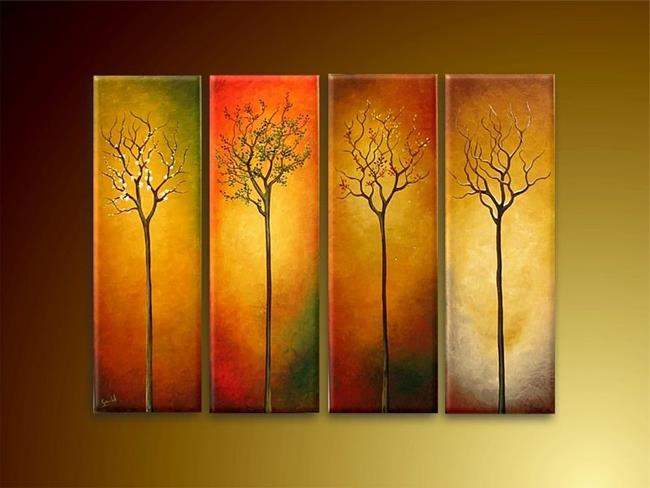 Art: The Seasons by Artist Ewa Kienko Gawlik