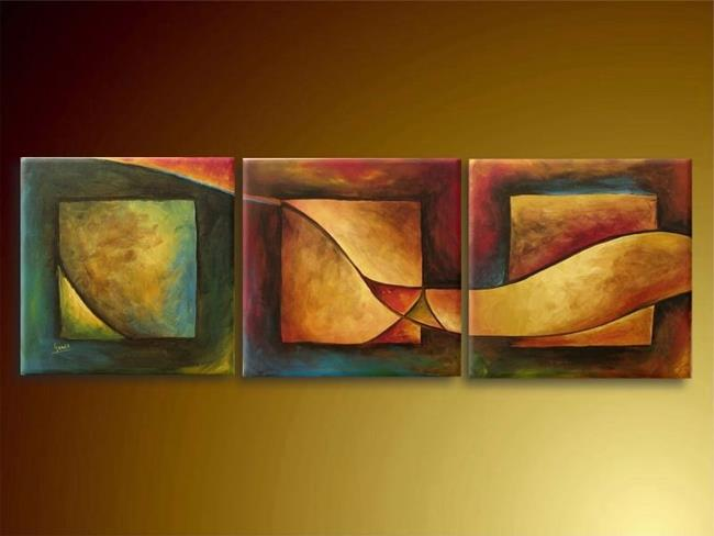 Art: Abstract by Artist Ewa Kienko Gawlik
