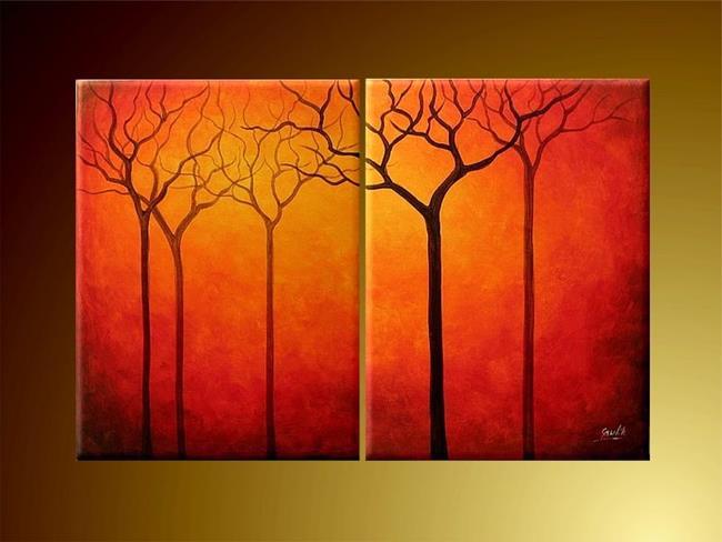 Art: Trees by Artist Ewa Kienko Gawlik