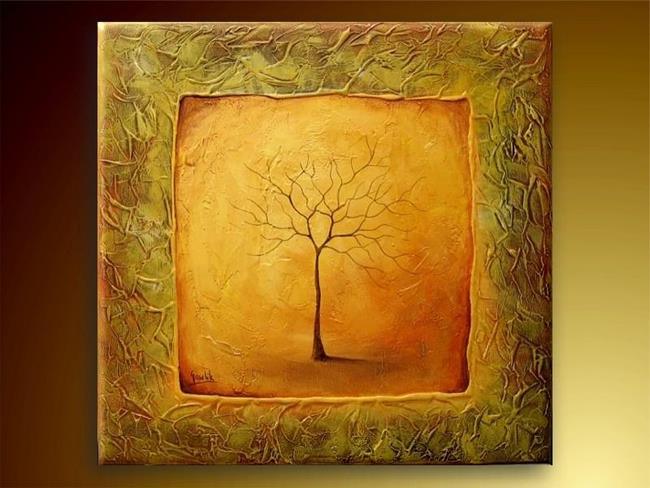 Art: Lone Tree by Artist Ewa Kienko Gawlik