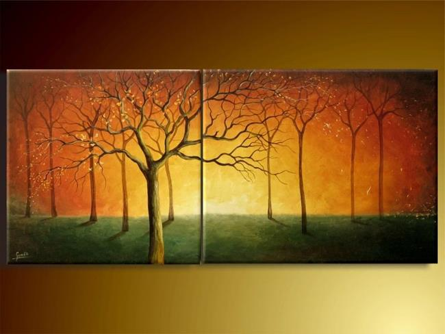 Art: In The Evening by Artist Ewa Kienko Gawlik
