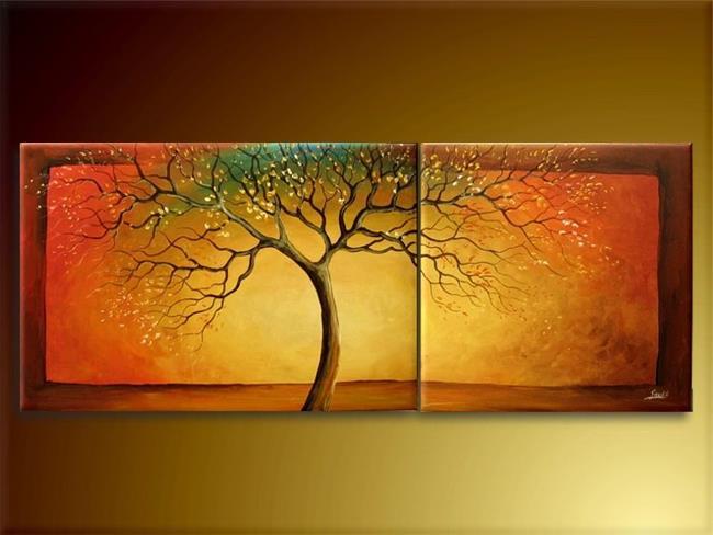 Art: Rainbow Tree by Artist Ewa Kienko Gawlik