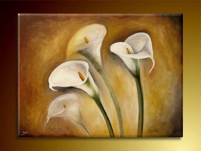Art: Calla Lilies by Artist Ewa Kienko Gawlik