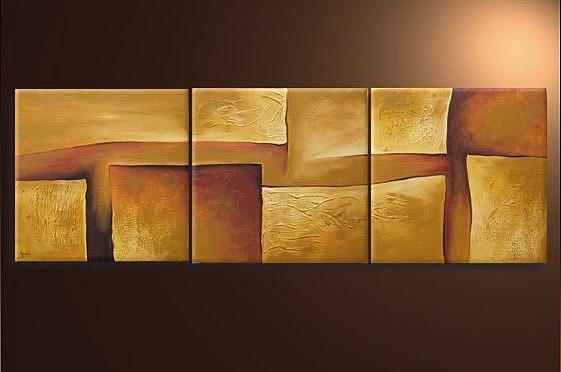 Art: Golden Fields by Artist Ewa Kienko Gawlik