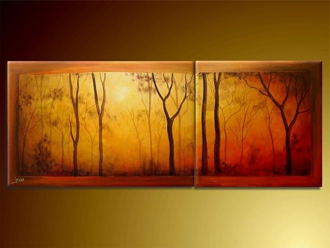 Art: In The Wood by Artist Ewa Kienko Gawlik