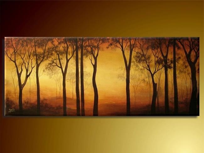 Art: Evening Mist by Artist Ewa Kienko Gawlik