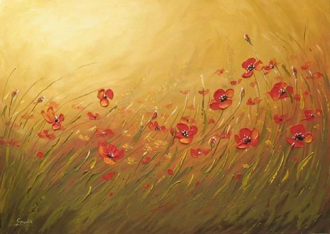 Art: Poppies by Artist Ewa Kienko Gawlik
