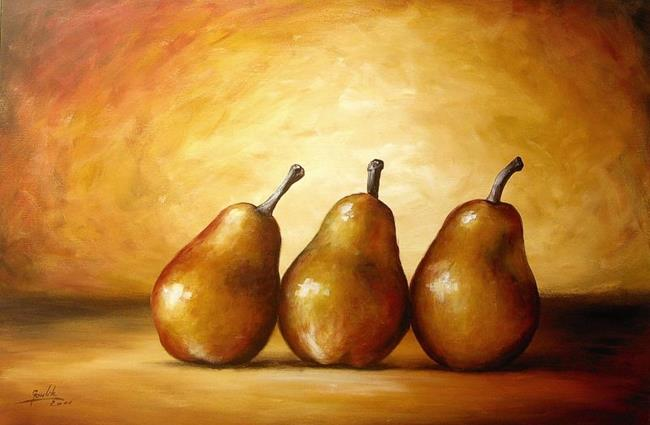 Art: Pears by Artist Ewa Kienko Gawlik