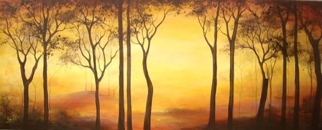 Art: The Forest by Artist Ewa Kienko Gawlik