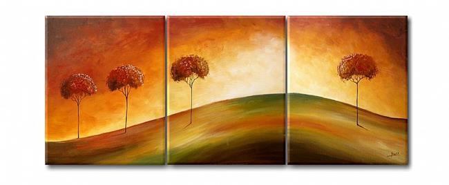 Art: Pejzaż Letni by Artist Ewa Kienko Gawlik
