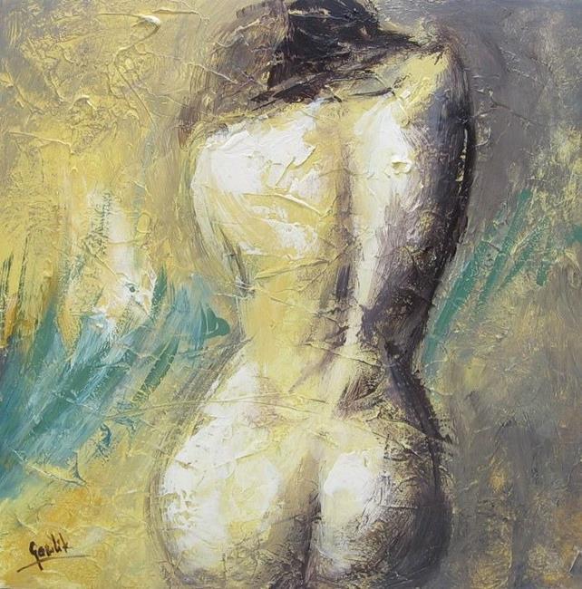 Art: The Woman by Artist Ewa Kienko Gawlik