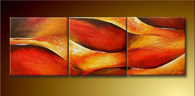 Art: Abstract by Artist Ewa Kienko Gawlik