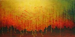 Art: Apokalipsa by Artist Ewa Kienko Gawlik