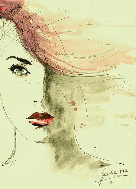 Art: Cecile by Artist Ewa Kienko Gawlik