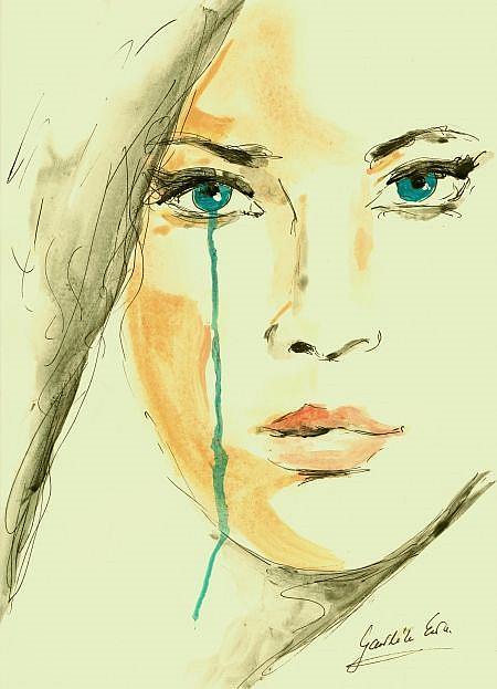 Art: Beatrice by Artist Ewa Kienko Gawlik