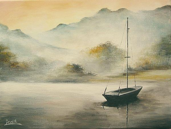 Art: The Boat by Artist Ewa Kienko Gawlik