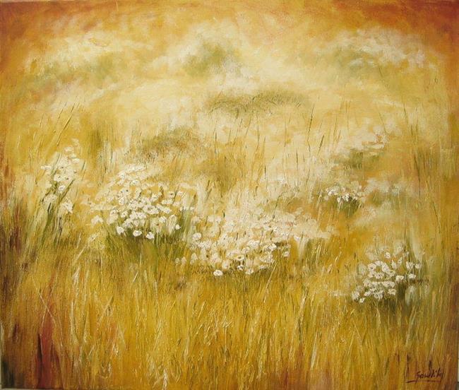 Art: THE MEADOW by Artist Ewa Kienko Gawlik