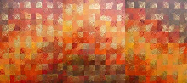 Art: BRONZE RIVER - sold by Artist Bonnie G Morrow