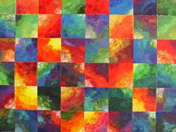 Art: SCREAMING COLOR - sold by Artist Bonnie G Morrow