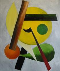 Art: GOLF COURSE - sold by Artist Bonnie G Morrow