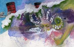 Art: Medusa of the Waves by Artist Judith A Brody