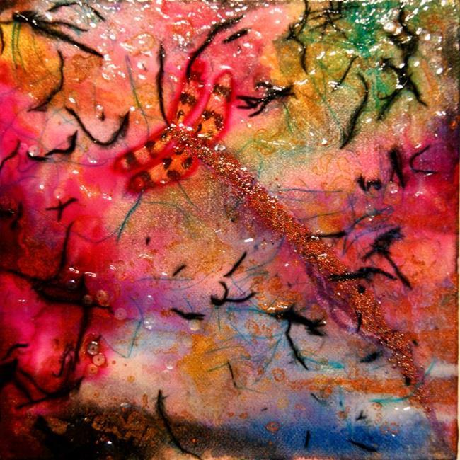 Art: Crticality 4 by Artist Rebecca M Ronesi-Gutierrez