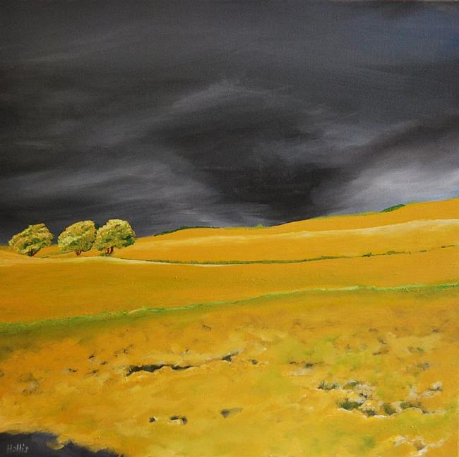 Art: Stormy Skies by Artist Julie Hollis