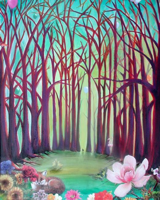Art: SOLD - At the End of the Journey by Artist Shawn Marie Hardy