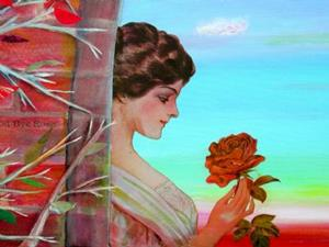 Detail Image for art Good-Bye Rose