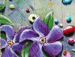 Detail Image for art Penny Candy and Periwinkle