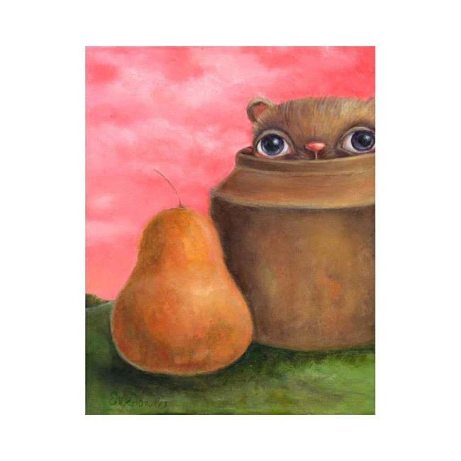 Art: Still Life with Wibble by Artist Vicky Knowles