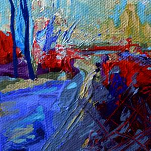 Detail Image for art The Road Less Traveled (2) - Sold