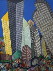 Art: Twisted Urban Life by Artist Jen Thario