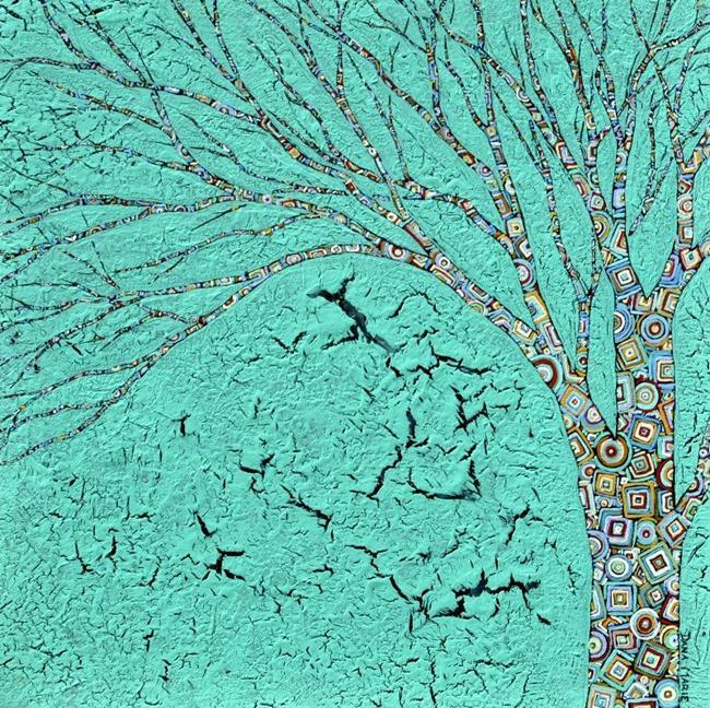 Art: Philosophy Tree - Sold by Artist Dana Marie