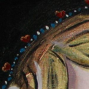 Detail Image for art Beauty and Her Cat