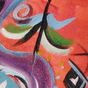 Detail Image for art Kandinksy - esque - FOR SALE