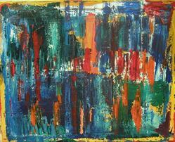Art: 11 6 11  16x20 canvas by Artist Mark A Opdahl