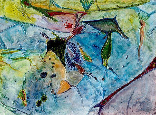 Art: WHAT IS IN AN OCEAN by Artist Gabriele Maurus