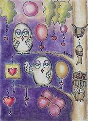 Art: Friendship and Love-Sold by Artist Sherry Key