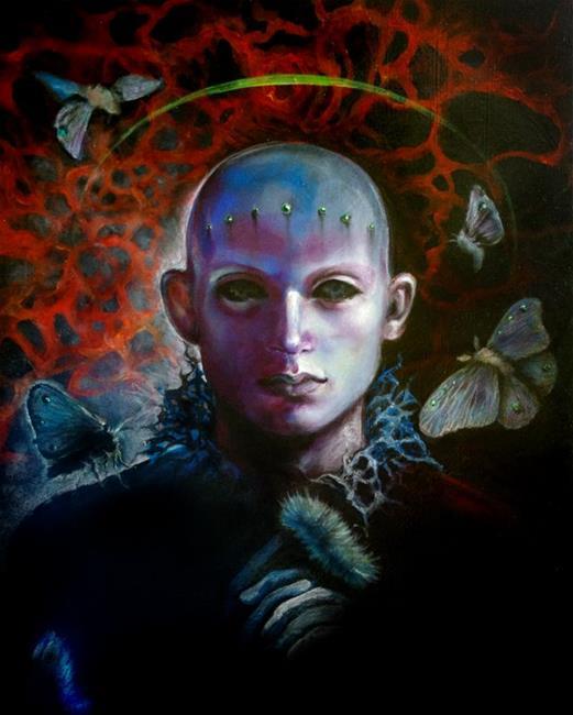 Art: Babyface by Artist Valerie Meijer