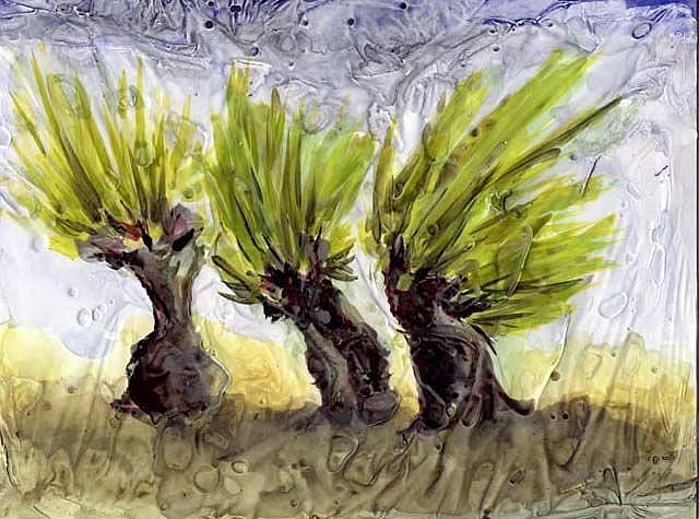 Art: Narrative Willows by Artist Gabriele Maurus