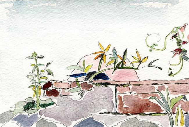 Art: Wall Garden by Artist Gabriele Maurus