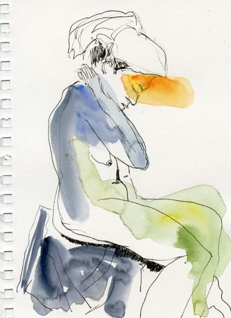 Art: Reflecting by Artist Gabriele Maurus