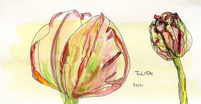 Art: Tulipa by Artist Gabriele Maurus