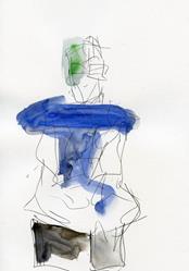 Art: February Model by Artist Gabriele M.