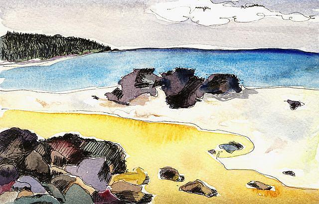 Art: BEACHES 109 by Artist Gabriele Maurus