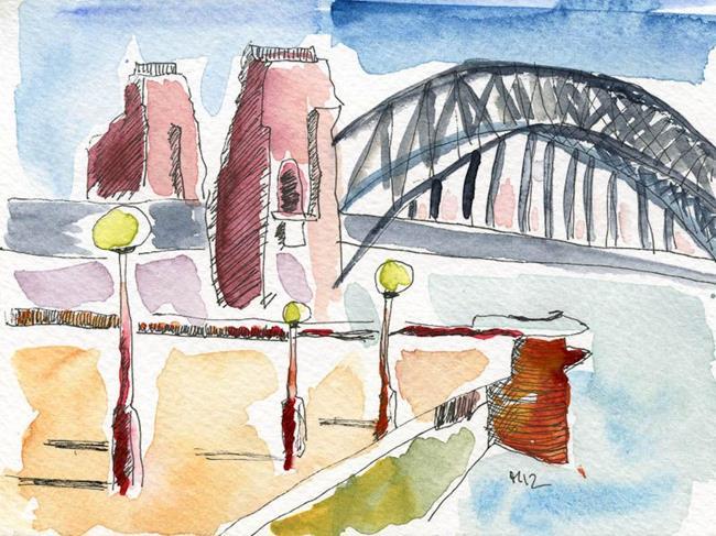Art: Anias Sydney 1 by Artist Gabriele Maurus