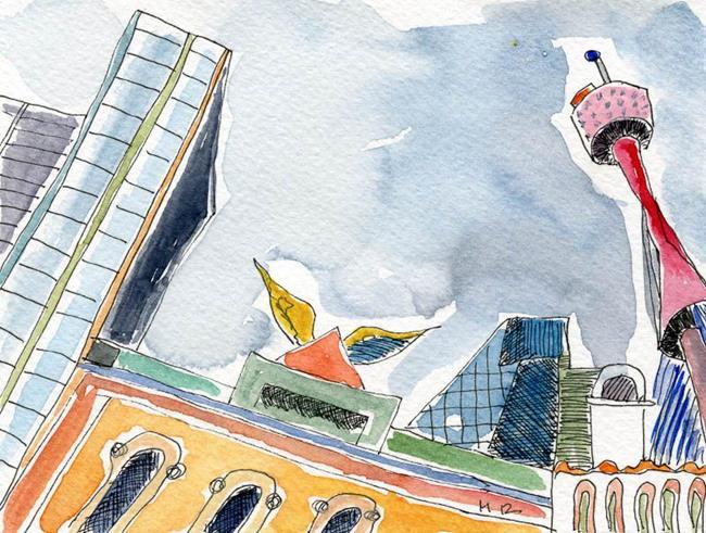 Art: Anias Sydney 2 by Artist Gabriele Maurus